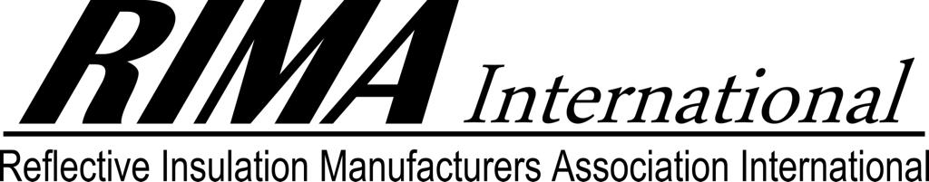 Reflective insulation Manufacturers association international